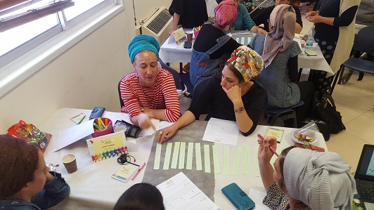 teachers participate in Hakaton to implement the school vision