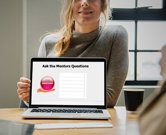 ask the mentors questions during the virtual Hackathon