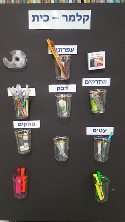 The project of students in Israel - class pencil case