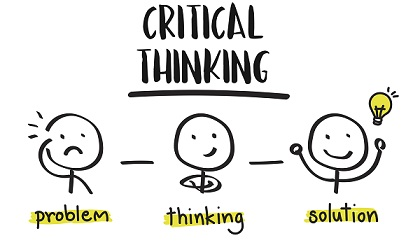 To develop critical thinking, we first have to believe in ourselves