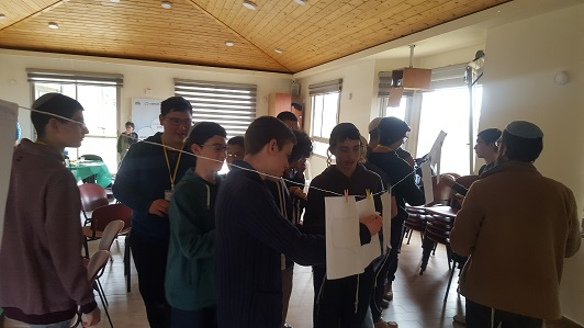 High school students from Efrat and Gush Etzion participate in Hackaton