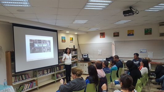Entrepreneurship workshop in education led by Galit Zamler