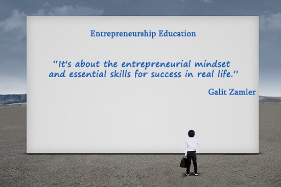 k-12 entrepreneurship education program is about entrepreneurial mindset