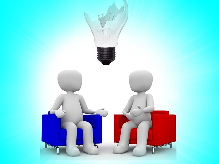 You have to share your idea with others, ask for feedback and help
