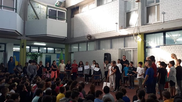 Entrepreneurship Week Ceremony at Yad Mordechai School in Bat Yam