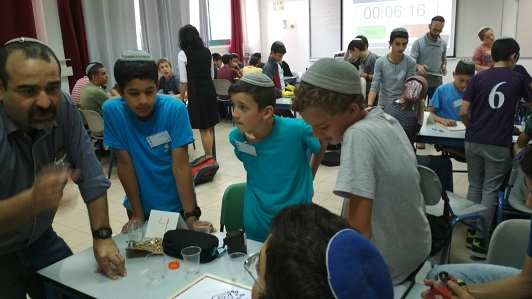 The Kiryat Arba Yeshiva students participate in Hackathon for students