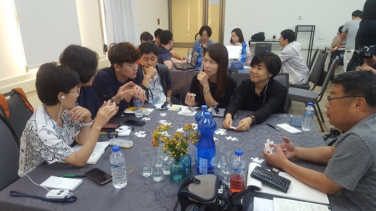 Workshop hosted by Galit Zemler for educators from South Korea