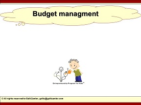 learn budget management