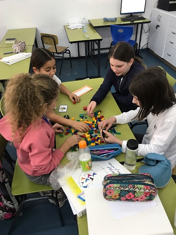Practice teamwork and creative thinking in the classroom