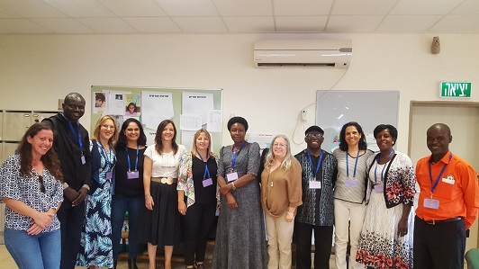 Uganda delegation visiting Israel to learn about entrepreneurship education in schools