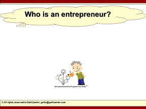 Study who is an entrepreneur